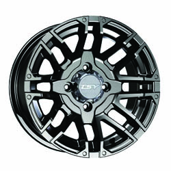 14x7 OAT Machined Alloy Wheel